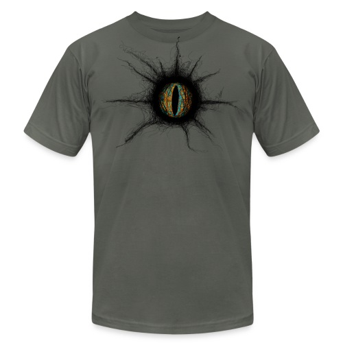 Men's STUDIO K - The Eye T - Front and Back Graphics - Men's Fine Jersey T-Shirt
