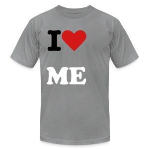 I LOVE ME M - Men's Fine Jersey T-Shirt