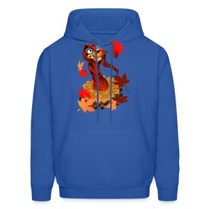 Goofy Thanksgiving Turkey - Men's Hoodie