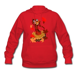Goofy Thanksgiving Turkey - Women's Hoodie