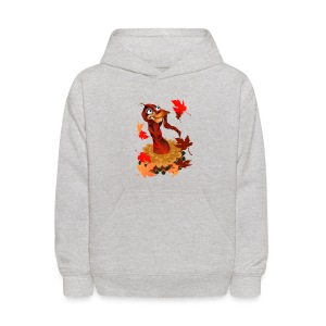 Goofy Thanksgiving Turkey - Kids' Hoodie