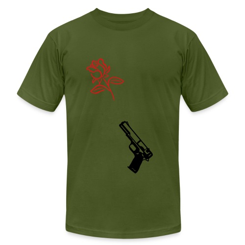 Gun$ and Ro$e$ - Men's  Jersey T-Shirt