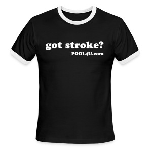 Classic 'got stroke?' t-shirt - Men's Ringer T-Shirt