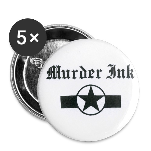 Murder Ink Button - Small Buttons