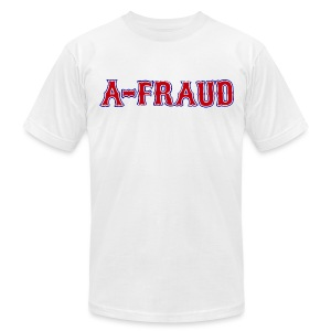 A-Fraud Sox Style Men's American Apperal Tee - Men's T-Shirt by American Apparel
