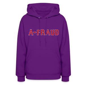 A-Fraud Sox Style Women's Hooded Sweatshirt - Women's Hoodie