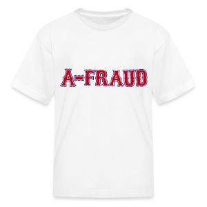 A-Fraud Sox Style Children's T-Shirt - Kids' T-Shirt