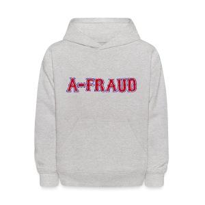 A-Fraud Sox Style Kid's Hooded Sweatshirt - Kids' Hoodie