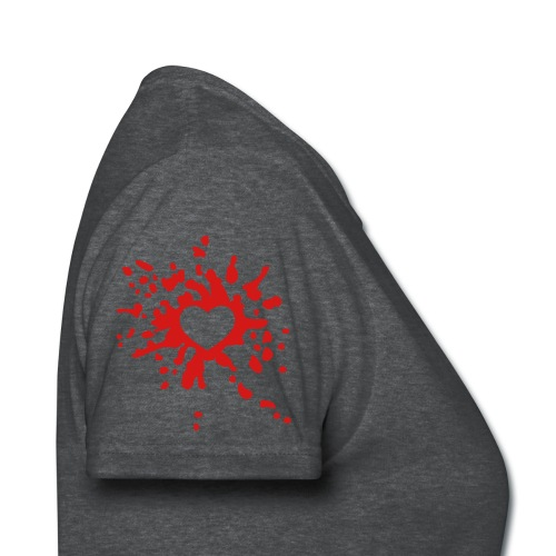 do you wear your heart on your sleeve? - Women's T-Shirt