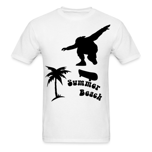 Sk8 Beach - Men's T-Shirt