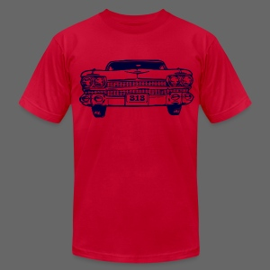 313 Car Men's American Apparel Tee - Men's T-Shirt by American Apparel