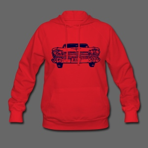 313 Car Women's Hooded Sweatshirt - Women's Hoodie
