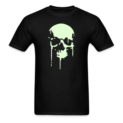 ZOMBIE T-Shirt Glow in the Dark  - Men's T-Shirt