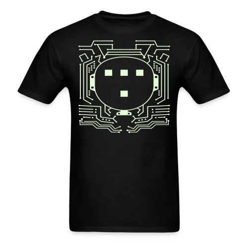 TRON T-Shirt Glow in the Dark  - Men's T-Shirt