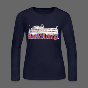 Boblo Island Women's Long Sleeve Jersey Tee - Women's Long Sleeve Jersey T-Shirt