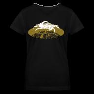 T-Shirts ~ Women's V-Neck T-Shirt ~ Msjinkzd: Women's Flex Print V Neck T