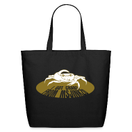Bags & backpacks ~ Eco-Friendly Cotton Tote ~ Msjinkzd Large Tote Bag