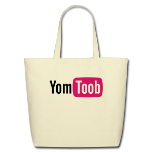 Yomtoob Flocked Tote  - Eco-Friendly Cotton Tote