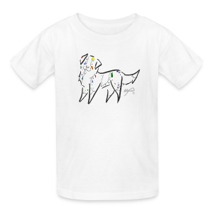 Kid's Rainbow Shepard - Kids' T-Shirt
