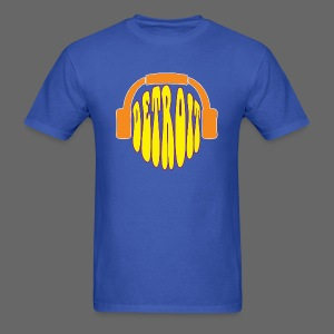 Detroit Headphones Men's Standard Weight T-Shirt - Men's T-Shirt