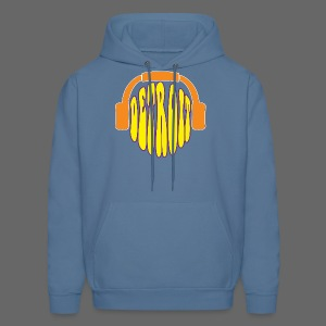 Detroit Headphones Men's Hooded Sweatshirt - Men's Hoodie