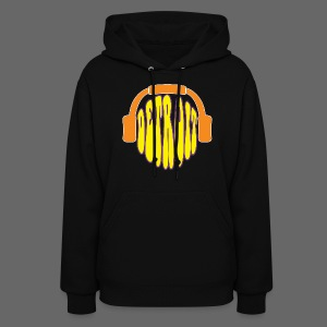 Detroit Headphones Women's Hooded Sweatshirt - Women's Hoodie