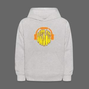 Detroit Headphones Kid's Hooded Sweatshirt - Kids' Hoodie