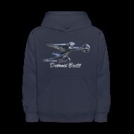 Sweatshirts ~ Kids' Hoodie ~ Detroit Built Packard Hood Ornament Kid's Hooded Sweatshirt