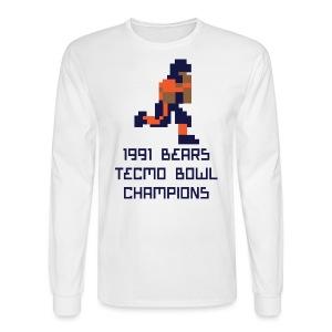 Tecmo Walter Bears Champs Men's Long Sleeve Tee - Men's Long Sleeve T-Shirt