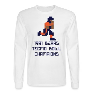 Tecmo Walter Bears Champs Men's Long Sleeve Tee - Men's Long Sleeve T-Shirt