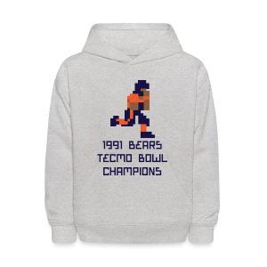 Tecmo Walter Bears Champs Kid's Hooded Sweatshirt - Kids' Hoodie