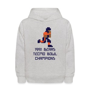 Tecmo Walter Bears Champs Kid's Hooded Sweatshirt - Kids' Hoodie