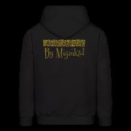 Hoodies ~ Men's Hoodie ~ Msjinkzd: Men's Flex Printed Hoodie