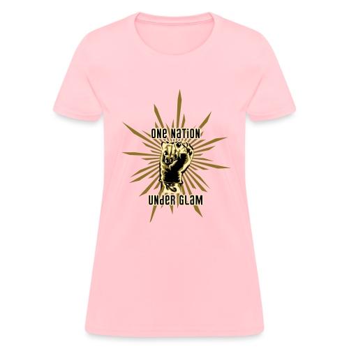 Propaganda-Gold - Women's T-Shirt