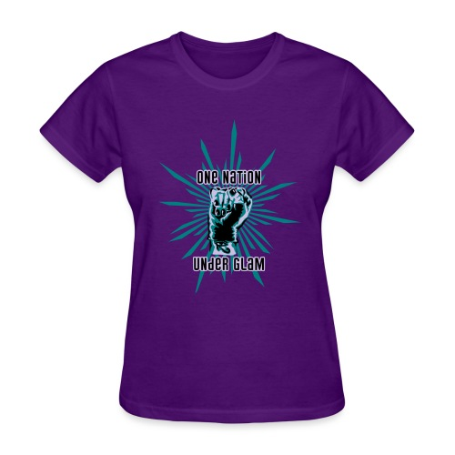 Propaganda-Turquoise - Women's T-Shirt