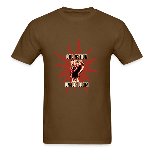 Propaganda-Red - Men's T-Shirt