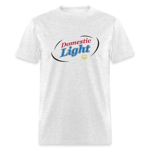 Domestic Light, Not Real Beer - Men's T-Shirt