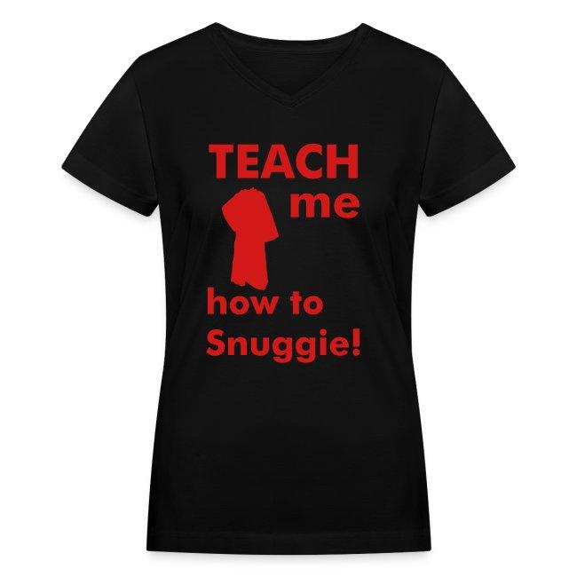 Teach me how to Snuggie! Women's V-neck