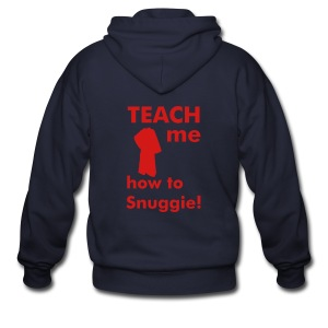 Teach me how to Snuggie! Men's Hoodie - Men's Zip Hoodie