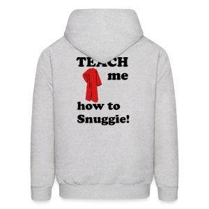 Teach me how to snuggie Men's Hoodie - Men's Hoodie