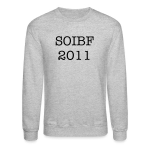 2011 SOIBF Men's Crewneck Sweatshirt - Crewneck Sweatshirt