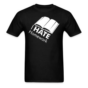I HATE Homework Men's Tee - Men's T-Shirt