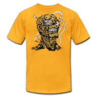 T-Shirts ~ Men's T-Shirt by American Apparel ~ Zombie head