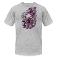 T-Shirts ~ Men's T-Shirt by American Apparel ~ Zombie heads
