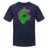 T-Shirts ~ Men's T-Shirt by American Apparel ~ King Octopus