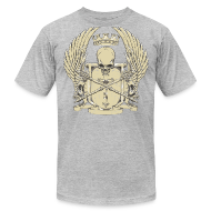 T-Shirts ~ Men's T-Shirt by American Apparel ~ Skull Crest