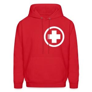 Medicated Winter Jacket (Front) - Men's Hoodie