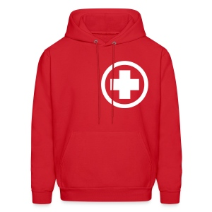 Medicated Winter Jacket (Front) - Men's Hoodie