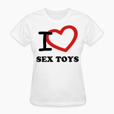 Women's I Heart Sex Toys Tee
