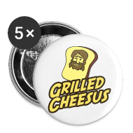 Buttons ~ Small Buttons ~ GRILLED CHEESUS Buttons